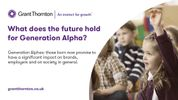 Welcome Generation Alpha, the Millennials even more 'connected' kids