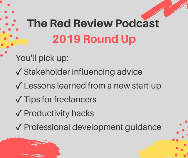 The Red Review Podcast - 2019 Round Up featured image