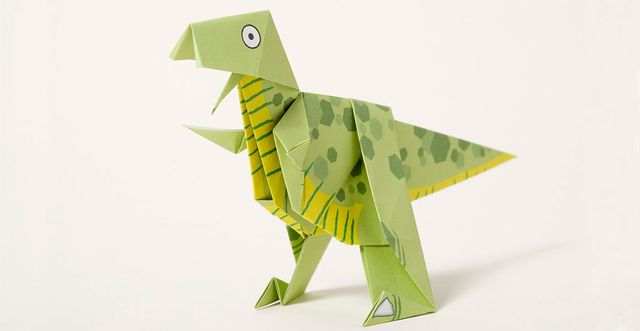 How to make a T. rex origami dinosaur and other brilliant dino things to do - from the Natural History Museum featured image