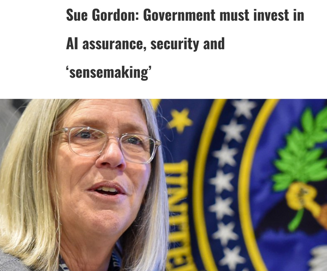 Sue Gordon - Gov must fill the AI Gap... featured image
