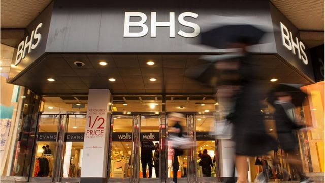 BHS goes into administration featured image