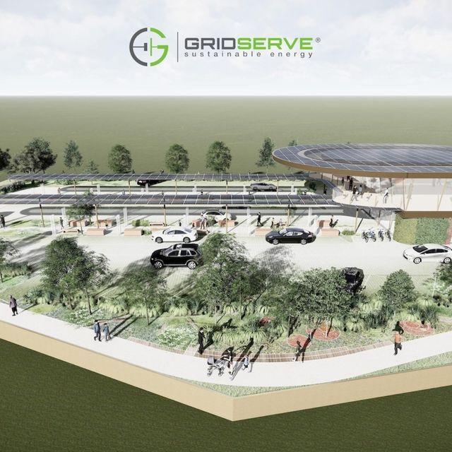 GRIDSERVE unveils £1 billion 'Electric Forecourt' EV infrastructure programme featured image