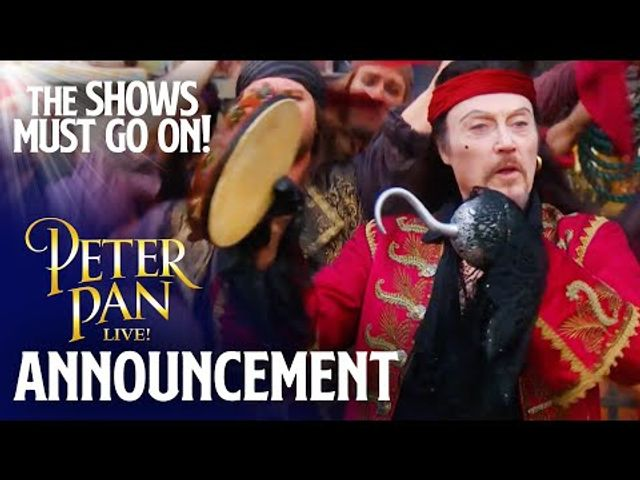 Watch 'Peter Pan Live' - from Friday 19th June on The Show Must Go On featured image