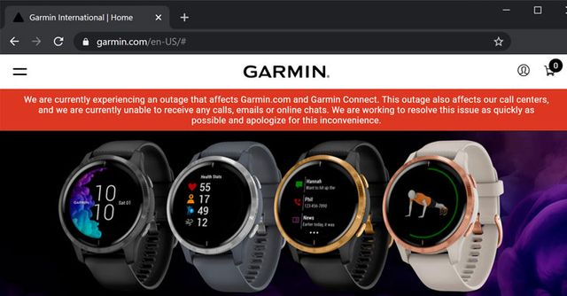 Garmin hit by ransomware featured image