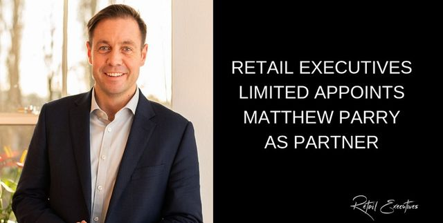 Retail Executives Limited Appoints Matthew Parry as Partner featured image