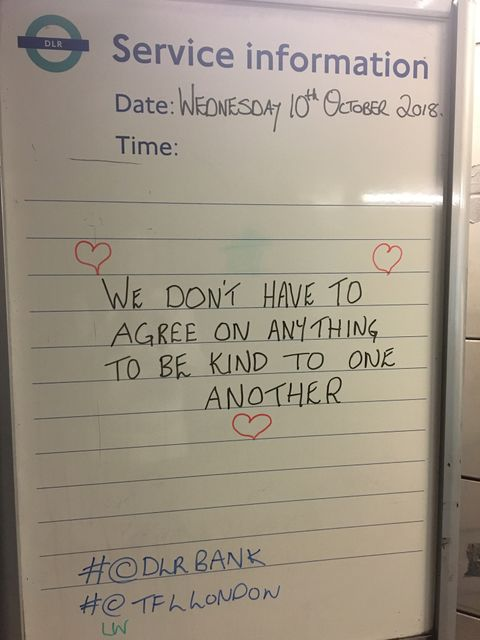 Words of wisdom on the tube featured image