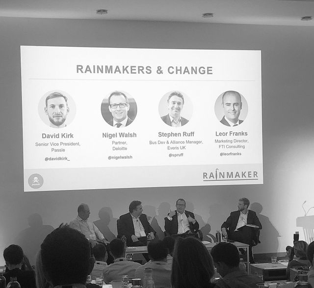3 things to help you thrive as a rainmaker in today's modern world; from the panel discussion at #Rainmaker18 featured image