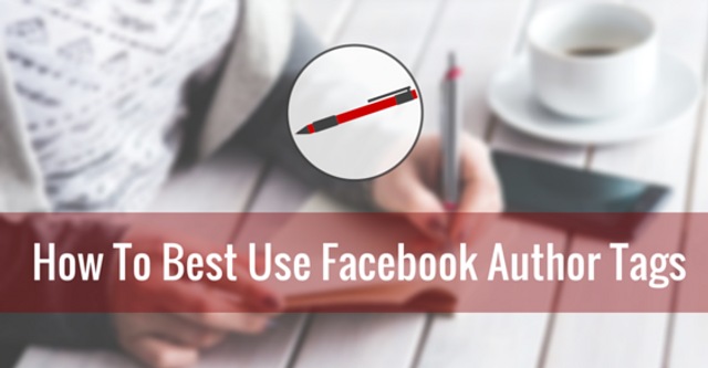 Facebook launches author tags featured image