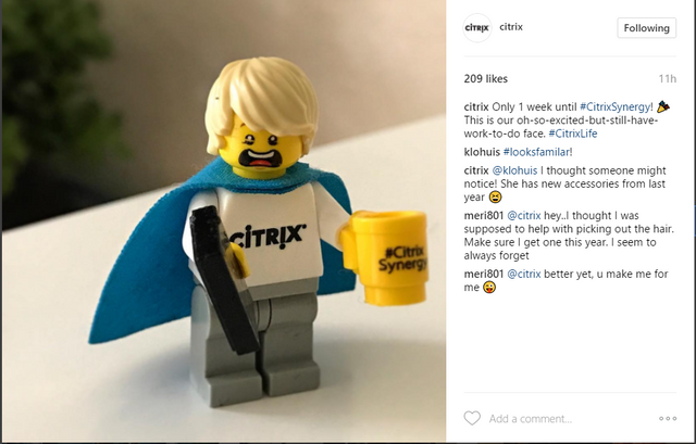 5 software companies rocking Instagram featured image