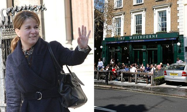 HR consultant, 43, who tripped at a Notting Hill gastropub and broke her left wrist wants £4.2million in damages ... featured image