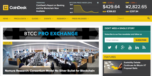 Digital Currency Group Acquires Top Bitcoin Trade Publication CoinDesk featured image