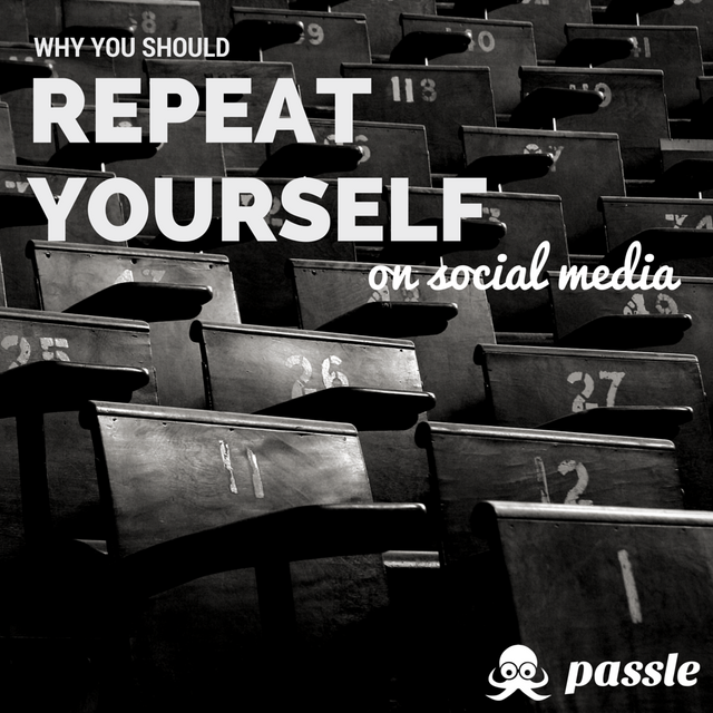 Why you should repeat yourself on social media featured image