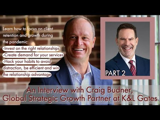 An Interview with Craig Budner - Part 2: Managing Relationships featured image