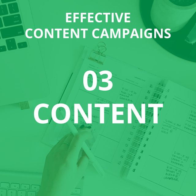 How to conduct a best practice content campaign from start to finish (part 3 - content) featured image
