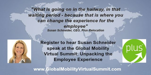 Unpacking the employee experience - Susan Schneider will be presenting at the Global Mobility Virtual Summit featured image