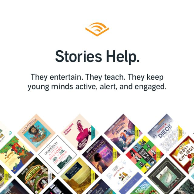 Kids can listen free with Audible.com featured image