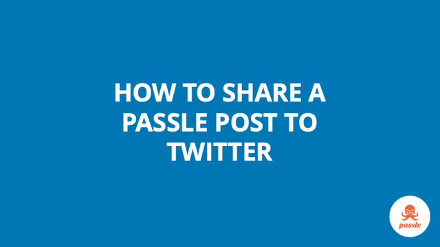 How to share a post to Twitter – Passle Knowledge Base featured image