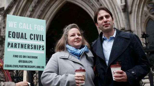 Heterosexual couples receive right to enter civil partnerships featured image