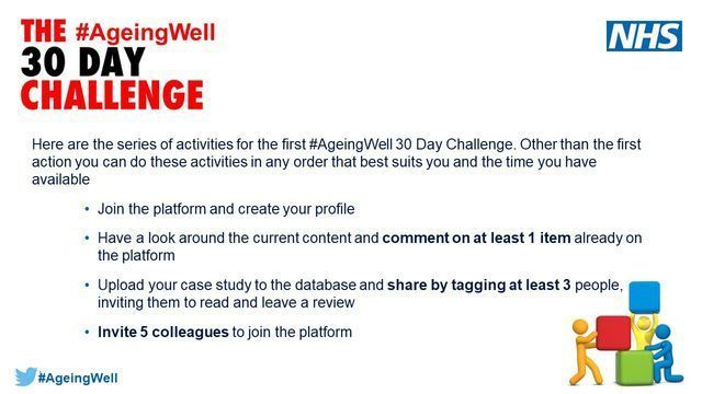 #AgeingWell - Joining a Virtual Improvement Community featured image
