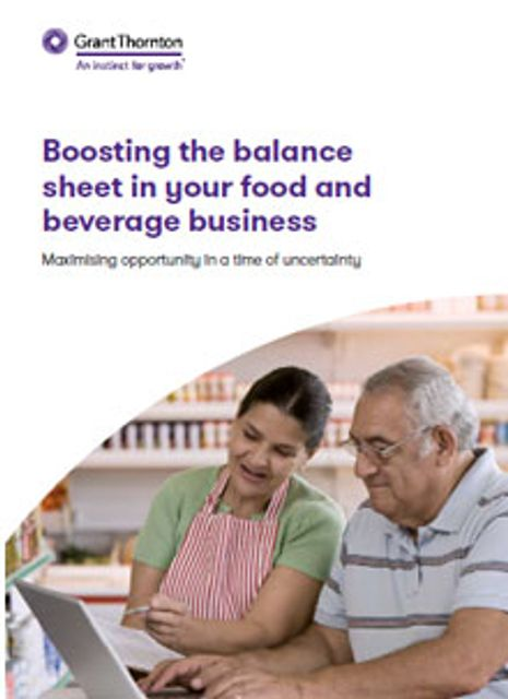 Boosting the balance sheet in your Food & Beverage business featured image