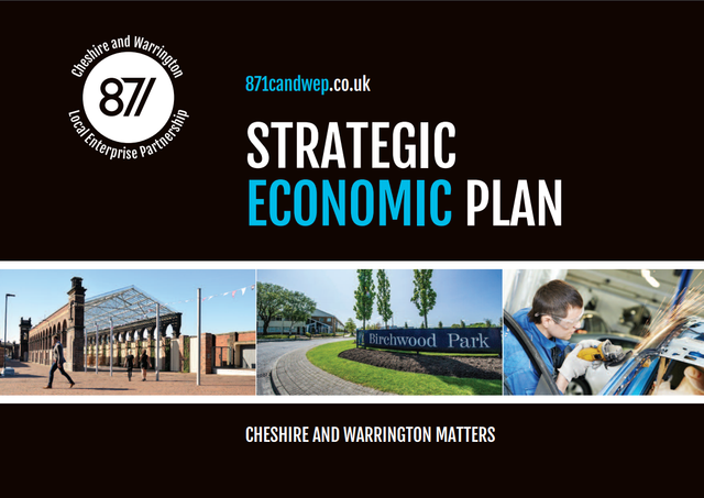 Cheshire & Warrington launches plan for £50bn economy featured image