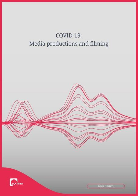COVID-19: Media productions and filming featured image