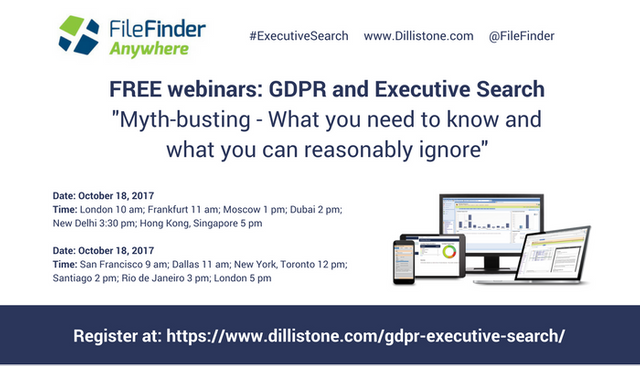 Executive Search and GDPR: Myth-busting - what you need to know and what you can reasonably ignore featured image