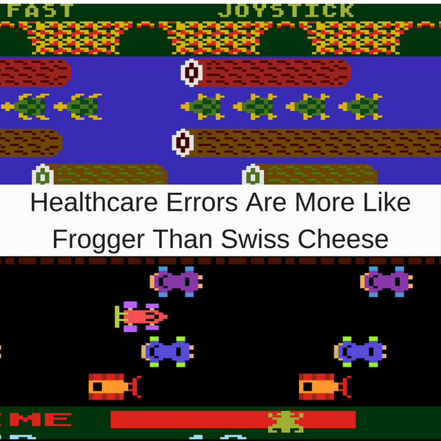 Healthcare Errors Are More Like Frogger Than Swiss Cheese featured image
