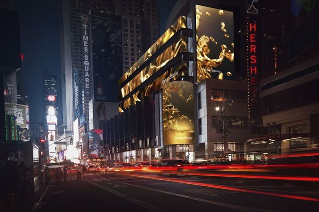 Today we are loving: the Morgan Stanley display at Times Square featured image