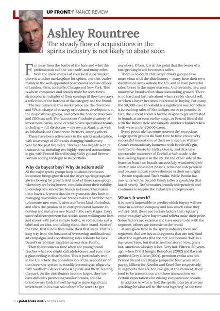 M&A is flowing in the spirits industry featured image
