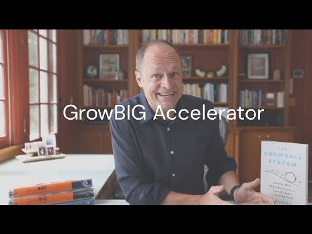 Mo Bunnell's GrowBIG® Accelerator - Session one featured image