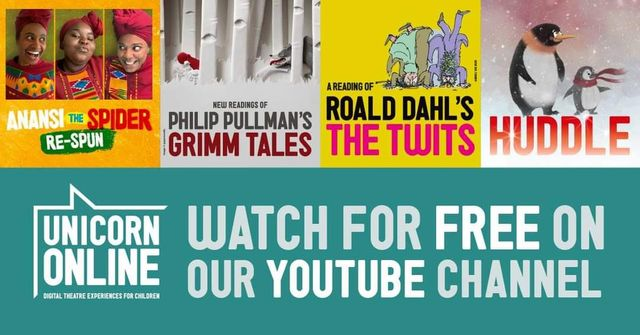 Free theatrical stories from the marvellous Unicorn Theatre featured image