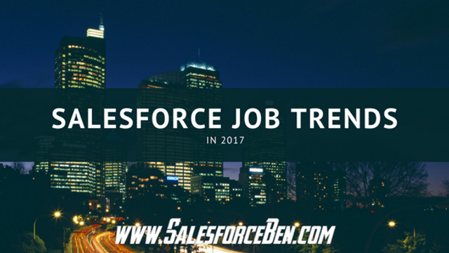 Salesforce Job Trends in 2017 featured image