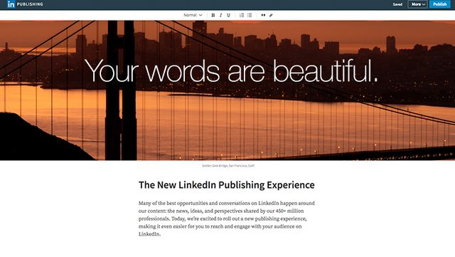 LinkedIn improves its publishing interface featured image