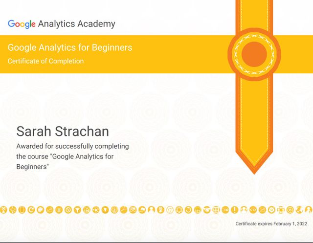 Google Analytics Beginners Certification - My Experience featured image