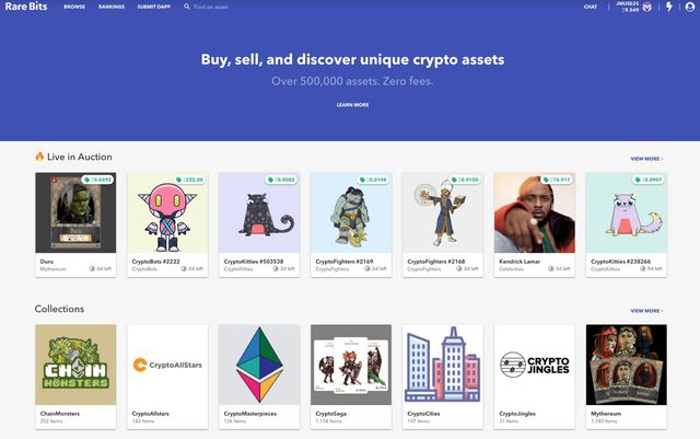 Rare Bits raises $6 million for site where you can buy and sell CryptoKitties featured image