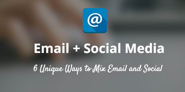Crossing Channels: Mix Email Marketing with Social Media! featured image