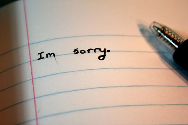 """Sorry"" - The latest, welcome corporate buzzword. featured image"