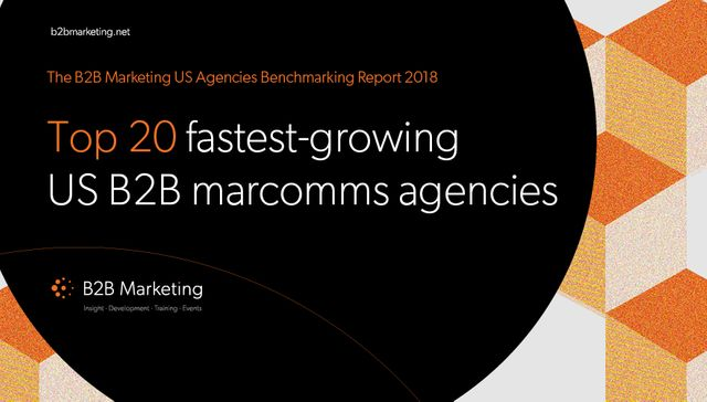 Kingpin named in B2B Marketing's 'Top US B2B Marcomms Agency' league table. featured image