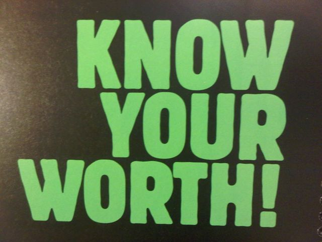 #KnowYourWorth featured image
