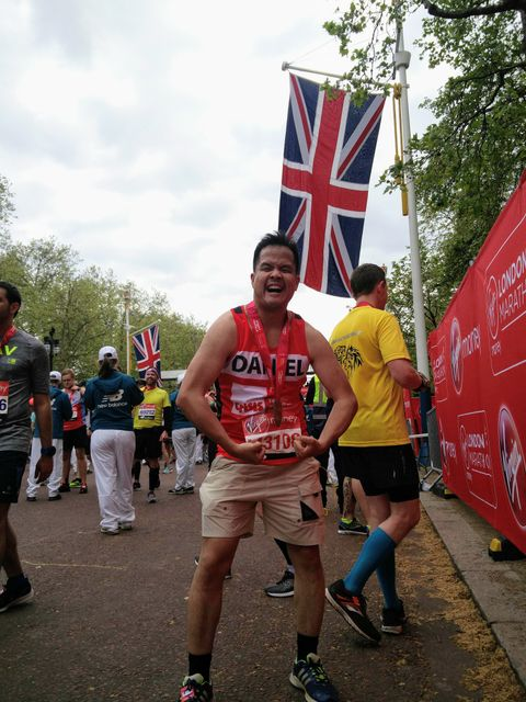 Seven thoughts on running the London Marathon featured image