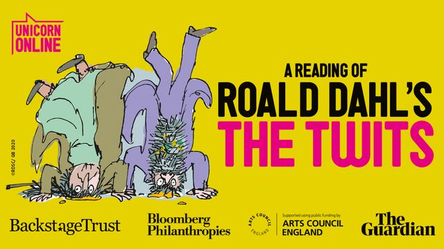Watch Unicorn Theatre's disgustingly delightful reading of Roald Dahl's The Twits featured image