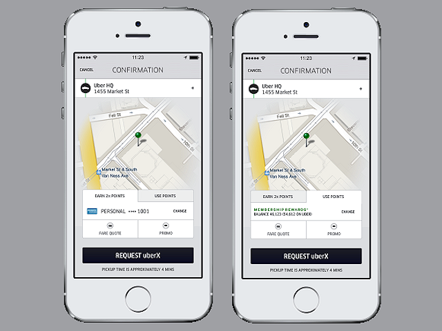 Uber and Amex partner up allowing customers to earn and use points featured image