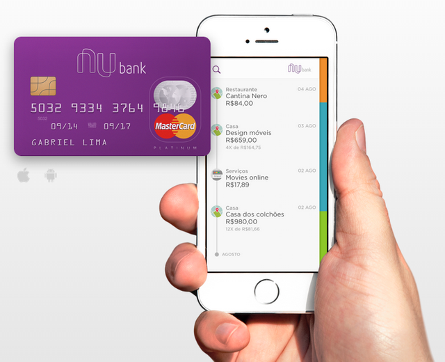 Brazil's Nubank Raises $30M Led By Tiger To Build Out Its Mobile-Based Credit Card Business featured image