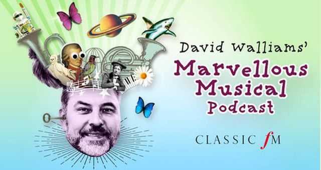 Tune in to David Walliams' Marvellous Musical Podcasts featured image