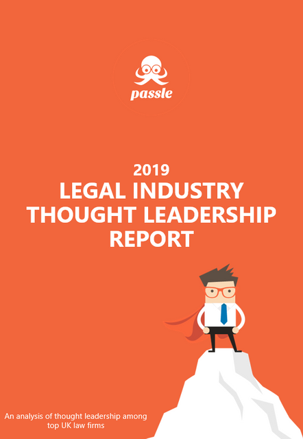 Legal thought leadership increases by 93% in five years featured image
