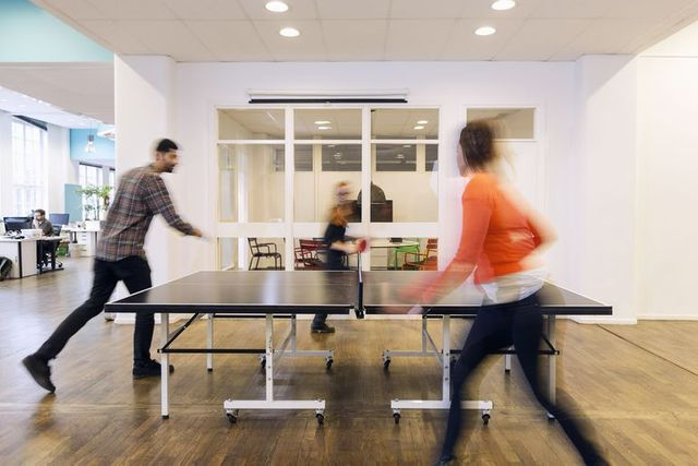 Hands up... Ping pong in the office or working from home in your Calvins? featured image