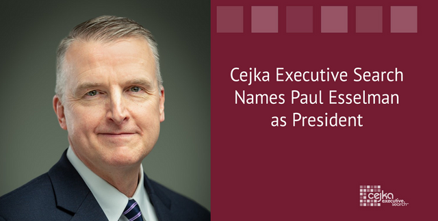 Cejka Executive Search Names Paul Esselman as President featured image