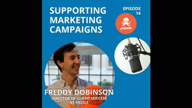 Podcast EP 14 - supporting marketing activities with expert content featured image