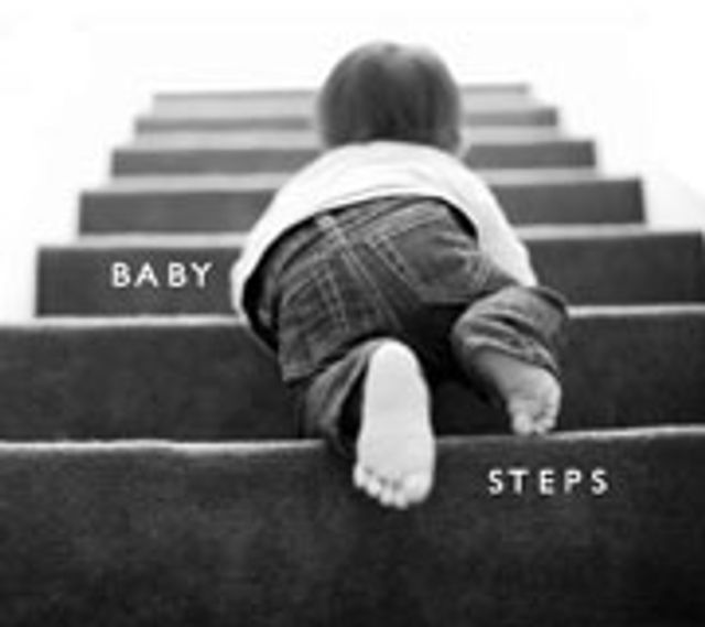 Take baby steps to big achievements featured image